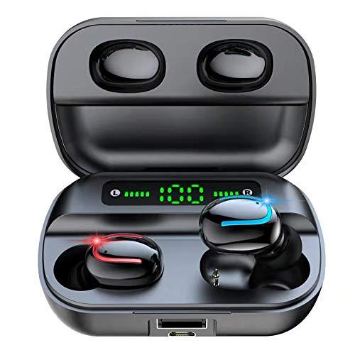Etrigger Auricolari Bluetooth 5.0, IPX5 Auricolari Bluetooth Senza Fili TWS Microfono Leggeri...