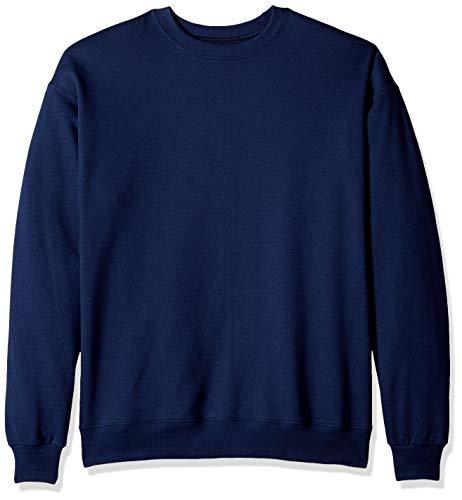 Hanes Herren Men's EcoSmart Sweatshirt, anthrazit, Klein Hanes Womens Sweatshirt