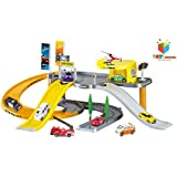 Toys Bhoomi Modern City Garage Parking Lot Vehciles Play Set