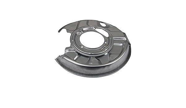 Bremsscheibe METZGER 6115101 Spritzblech