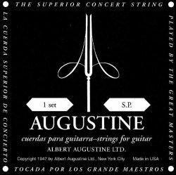 Augustine Black Konzertgitarre Saiten-Satz Low Tension