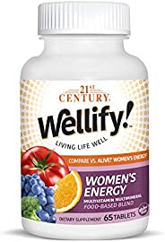 21st Century, Wellify! Women's Energy, Multivitamin Multimineral, 65 Tablets by ROYALISTA
