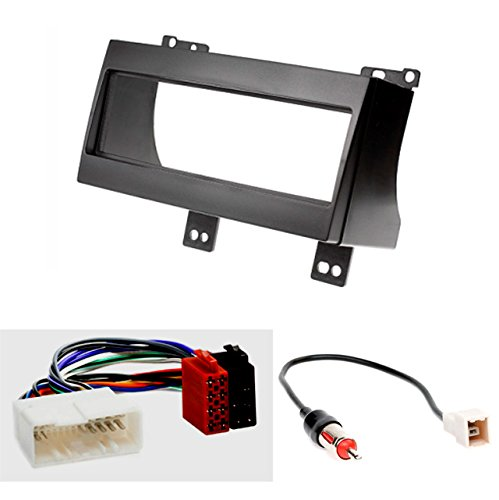 CARAV 11-023-14-1 Radioblende Car 1-DIN in Dash Installation kit Set for KIA CEE'D 2007-2009 + ISO and Antenna Adapter Cable -