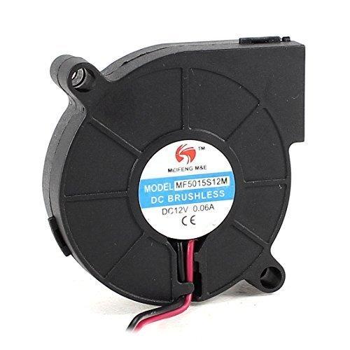 Agua y madera MF5015S12M 50mmx15mm 2Pin DC 12V 0,06A sin escobillas del ventilador ventilador de refrigeración