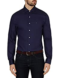 "Tommy Hilfiger Big Man's Business Shirt Smart Casual (16""/44"" Chest) RRP £90"