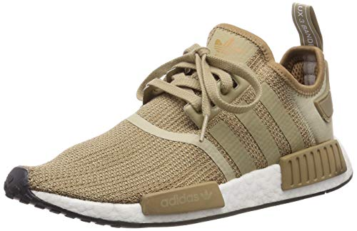 pretty nice 38640 dfcd8 adidas Originals NMD R1, Raw Gold-Cardboard-Footwear White, 7,5