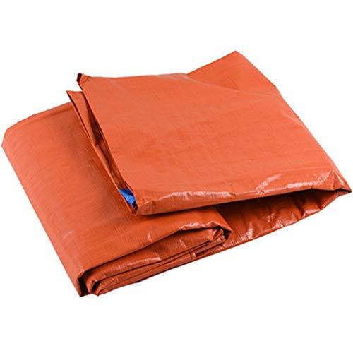 Bâches Bâche orange canopée bâche de protection de camion de voiture de bâche de protection solaire orange bleue de bâche (450g / m²) (Couleur : Orange and blue, taille : 3 * 4m)