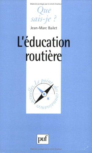 L'Education routière