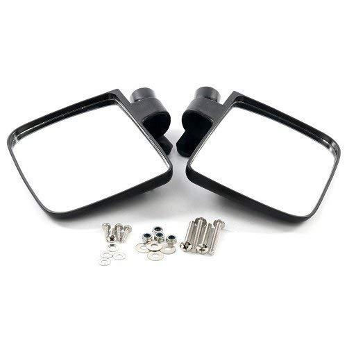 FreeTec Golfwagen Seitenansicht Spiegel Seite View faltbarer Spiegel für Club Car, EZGO, Yamaha, Star, Zone Carts (Yamaha Golf Cart Parts)