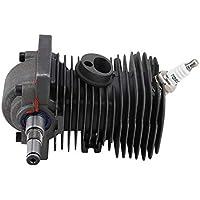Motor de motor de 38 mm cilindro de pistón cigüeñal motor de jardinería máquina motosierra cilindro pistón Kit de repuesto para motosierra STIHL MS170 MS180 018