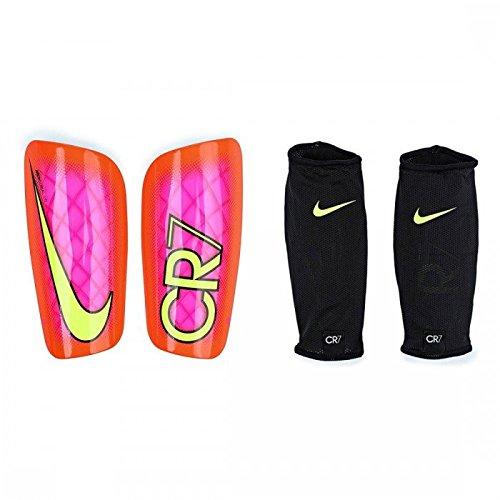 Nike CR7 Mercurial LITE - Schienbeinschutz Unisex, Rosa (pink Blast/total Crimson/Volt), S