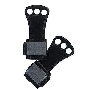 HEALIFTY 1 Paar trainingshandschuhe Gewichtheben Handschuhe mit Handgelenkstütze Fitness Handschuhe für Fitness Gym Cross Training Powerlifting Größe M (Schwarz)