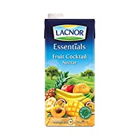 ‏‪Lacnor Essentials Fruit Cocktail Nectar - 1 Litre‬‏