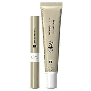 Olay Smooth Finish Facial Hair Removal Duo (Medium to Coarse Hair) 1 Kit