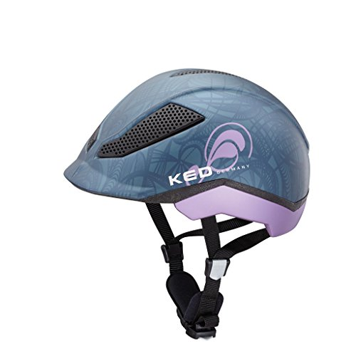 KED Pina Ride & Bike Helmet Kids Nightblue Matt Kopfumfang 51-56 cm 2017 mountainbike helm downhill