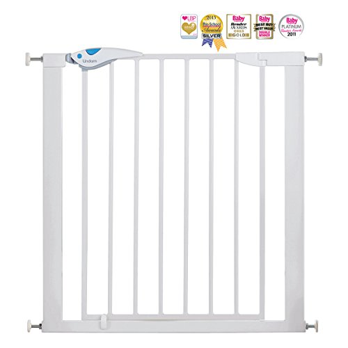 Lindam Easy Fit Plus Deluxe Pressure Fit Safety Gate - 76-82 cm, White Lindam