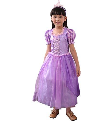 Kostüm Kinder Glanz Kleid Mädchen Weihnachten Verkleidung Karneval Rollenspiele Party Halloween Fest (Angel Halloween-kostüm Ideen)
