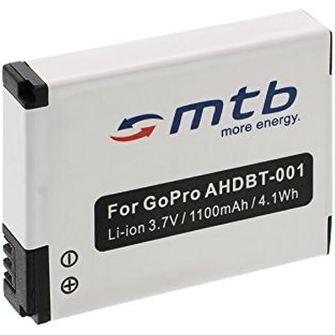 Batería ABPAK-001, AHDBT-001, AHDBT-002 para Gopro Hero / HD Hero / HD Hero 2