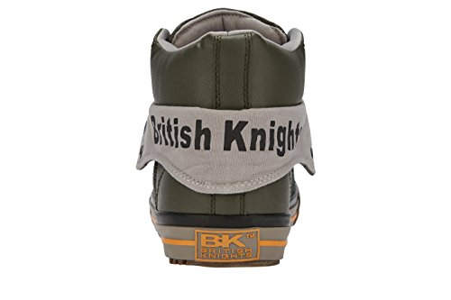 British GRIS SCHUH CLAIR TOP ROCO SNEAKER OLIVE HERREN Knights GRIS HIGH S1Z78rSq