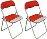 Red Folding Chairs Review and Comparison