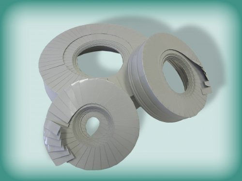 Armalok endmanschette lamellenband 5mtr x 28 mm pour gaine en pVC gris clair