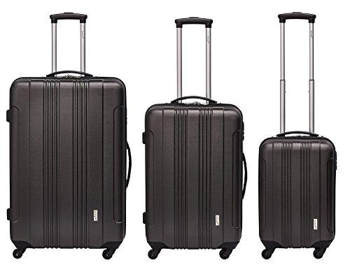 Packenger Reisekofferset Torreto 3er-Set (anthrazit)