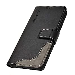ELEPHONES Wallet Case Compatible with Samsung Galaxy S9 Case Protective Flip Cover Case Holster Book Style