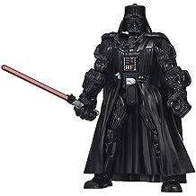 Star Wars - Episodio VI - Figura Darth Vader, Star Wars Hero Mashers (B3657)