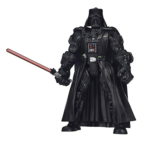 Hasbro Star Wars B3657ES0 - Hero Mashers Basisfigur: Darth Vader, Actionfigur (Cape Darth Vader)