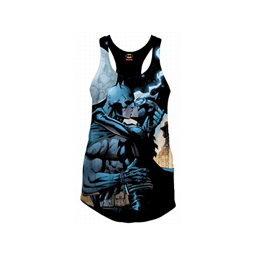 Batman Batman Catwoman Kiss Top Mujer multicolores S