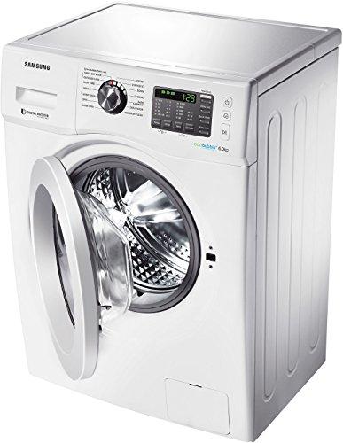 Samsung WF600U0BHWQ/TL Fully-automatic Front-loading Washing Machine (6 Kg, White)