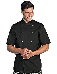 Petersabitidalavoro Giacca Cuoco Chef Cucina MasterChef ALBERGHIERO Hotel  Nera-Bianca 607bf68d5712