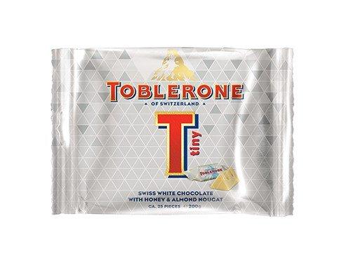 Toblerone weiße Schokolade Minis - Toblerone-schokolade