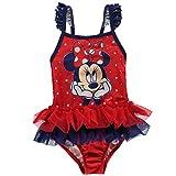 Character Kinder Baby Maedchen Badeanzug Schwimmanzug Print Einteiler Bademode Disney Minnie 6-9 Mnth