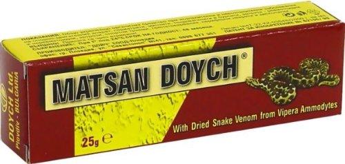MATSAN DOYCH 25g Creme / Gel mit TROCKEN Schlangengift - Schmerzen lindern, Entzündungen - Arthritis