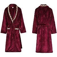 GX Albornoz de Felpa de Coral para Mujer, Batas de baño Suaves Pijamas Ducha Albornoces