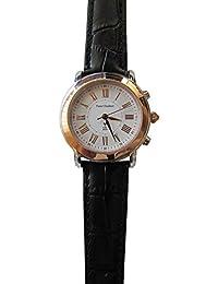 Pierre pantalones Bert it's_amaz-reloj analógico de cuarzo cuero B16S82915