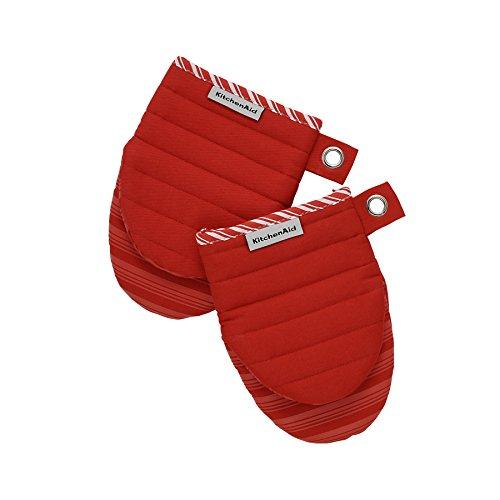 KitchenAid 1par Horno Guante Rojo silikonbeschichtet