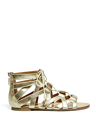 G By Guess Lookie Femmes Synthétique Sandales Gladiateur gold