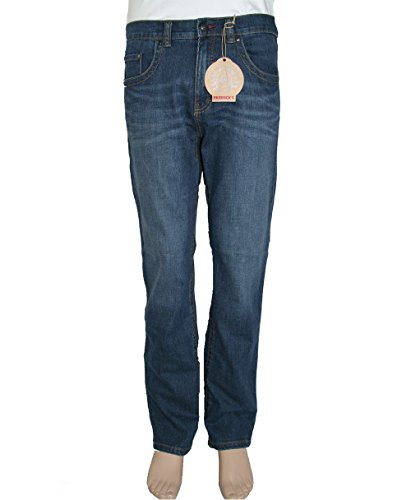Paddock`s Herren Jeans Carter - Regular Fit - Blau - Blue Dark Stone Used Blue Dark Stone Used Moustache (5475)