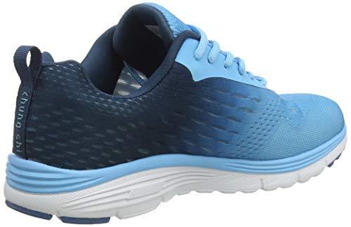 Chung Shi Damen Duxfree Berlin Sneaker, Blau (Hellblau), 41 EU