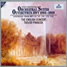 Bach Js-Suites Orchestrales N 1 a N 4-Pinnock-English Concer