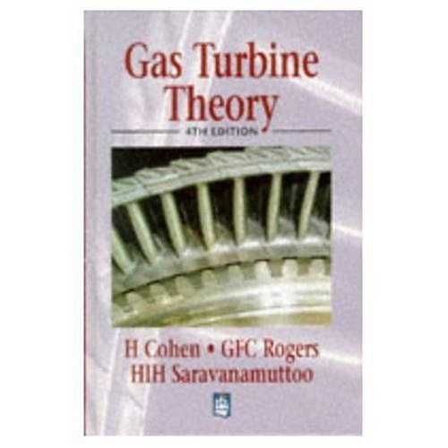 Gas Turbine Theory por Henry Cohen