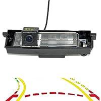 R/ückfahrkamera Umbausatz Einparkhilfe passend f/ür Vios Avensis Corolla Tarago Previa Wish Alphard Urban Cruiser Auris KMH-CAM30