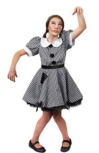 ILOVEFANCYDRESS Kinder RAG-DOLL/Stoff Puppen Flicken Kleid KOSTÜM VERKLEIDUNG =Fasching Karneval Halloween Themen Party MÄDCHEN = ()