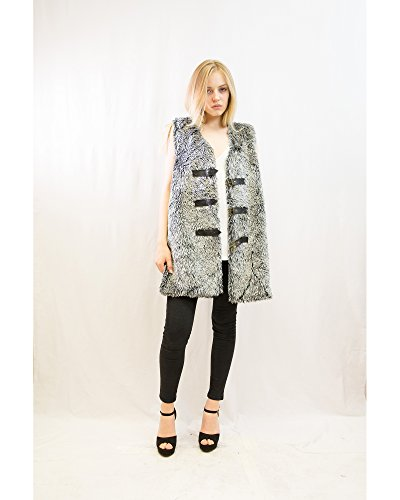 Exceptional Products -  Gilet  - Donna MIX GREY
