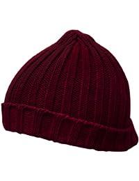 Sourcingmap Unisex Stylish Textured Design Stretch Winter Warm Beanie Hat