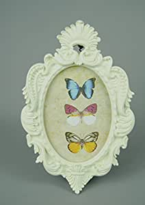 ORNATE OVAL PICTURE FRAME