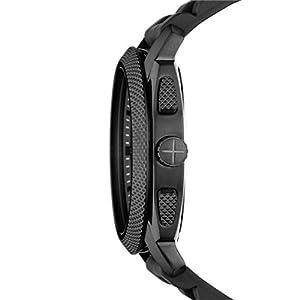 Reloj Fossil FS4487 de cuarzo para hombre con correa de caucho, color negro de Fossil