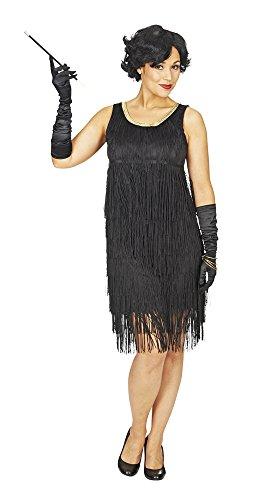 Charleston Kleid Iza mit Fransen - 40/42 (1920er Jahre Theater Kostüm)